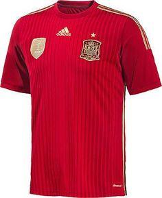 Adidas spain home jersey fifa world cup brazil 2014 7d40c2cda