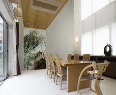 Idei de amenajare cu tapet italian Home 2 Italian Home, Conference Room, Flooring, Wallpaper, Modern, Table, Furniture, Design, Home Decor