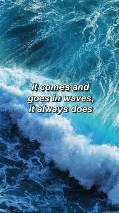 Wave Quotes, Song Lyric Quotes, Music Quotes, Words Quotes, Qoutes, Lyric Art, Music Lyrics, Meaningful Quotes, Frases