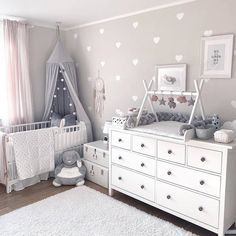 kleinkind zimmer Top Most Amazing Budget Friendly Baby Room Ideas - Wittyduck Baby Bedroom, Baby Boy Rooms, Kids Bedroom, Ikea Baby Room, Baby Room Ideas For Girls, Room Baby, Ikea Baby Nursery, Baby Room Furniture, Baby Bedding