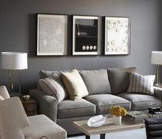 Gri koltuklarla gri duvar uygulaması da sıkça karşımıza çıkar. Düz gri renk duvarlar salonda soğuk bir hava yaratabileceğinden duvar aksesuarları kullanılması önemlidir. Ya da gri renkte desenli bir duvar kağıdı ya da dokulu duvar kaplamaları gibi seçenekler de gözden geçirilebilir. Küçük salonlarda koltukla aynı tonda bir gri seçilirse, oda daha büyük görünür. - See more at: http://www.yapidekorasyon360.com/page/8/#sthash.JbP5EjNy.dpuf