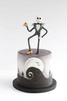 Nightmare Before Christmas Halloween cake