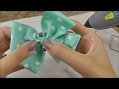 How To Make A Hair Bow: Flat Boutique or Basic Hair Bow #rrrhairbow