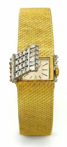 Patek Philippe Ladies Diamond Watch with yellow bracelet Patek Philippe, Ring Watch, Bracelet Watch, Watch Diy, Expensive Watches, Beautiful Watches, Mellow Yellow, Luxury Watches, Men's Watches