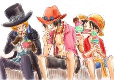 One Piece, ASL ay Luffy