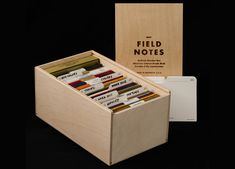 Field Notes Brand Archival Boxes and Leather Goods featured on www.letsbefairblog.com