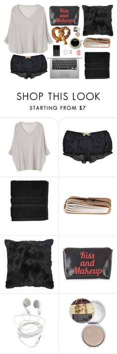 """Ready to be back in my bed!"" by tamo-kipshidze ❤ liked on Polyvore featuring Guy Fieri, EAST, Kiki de Montparnasse, Waterworks, TheBalm and Eos"