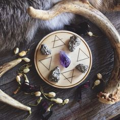 Alchemy Elemental Altar Tile by UnusualOptical on Etsy, $20.00
