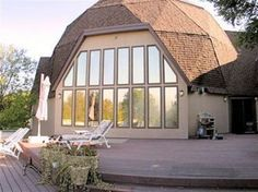 GEODESIC DOME HOMES Using #mirror #tint. Modern and cool.