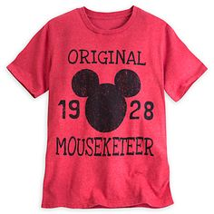 Mickey Mouse Icon Mouseketeer Tee - DISNEY STORE