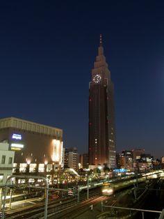 docomo building,Yoyogi,Tokyo,Japan
