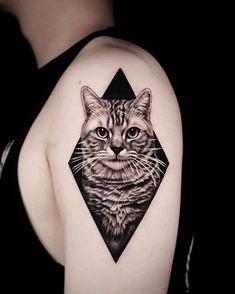 Las 289 Mejores Imágenes De Tatuajes Gatos En 2019 Tattoo Cat