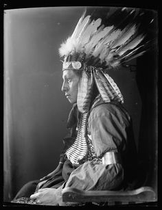 Gertrude Kasebier: Whirling Hawk, a Sioux Indian from Buffalo Bill's Wild West Show