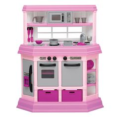 American Plastic Toys Custom Kitchen Play Set - Overstock™ Shopping - Big Discounts on American Plastic Toys Kitchens & Play Food
