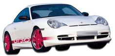 2002-2004 Porsche 996 C4S Turbo Duraflex GT-3 RS Look Body Kit - 4 Piece