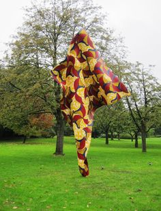 Wind Sculpture 1 by Yinka Shonibare MBE. Photo by purple DIARY - FRIEZE ART FAIR 2013 at Regent's Park, London