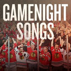 Check out our new Gamenight playlist on Spotify! #Blackhawks