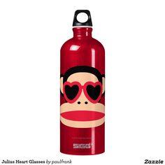 Julius Heart Glasses SIGG Traveler 1.0L Water Bottle #paulfrank