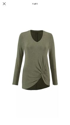5c0bd2e198e cabi's Reveal Tee - I'm sure guys don't carry CAbi, but I really like this  top; the knotted hem softens the bottom and the scooped v-neck is a  favorite.