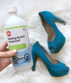 How to Stretch Shoes with Rubbing Alcohol Stretch Leather Shoes, Clean Suede Shoes, How To Clean Suede, Stretch Shoes, Leather Boots, How To Strech Shoes, How To Stretch Boots, Jimmy Choo, Narrow Shoes