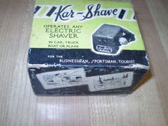 1940-50's CHEVY FORD MOPAR KAR SHAVE ELECTRIC SHAVER IN BOX NOS ORIGINAL RARE | eBay Vintage Auto, Vintage Cars, Auto Accessories, Mopar, Shaving, Chevy, Electric, Ford, The Originals