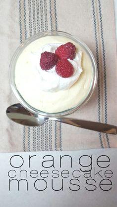 Orange Cheesecake Mousse - Lou Lou Girls