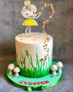 Tinkerbell birthday cake | Aspiring Cake Artists