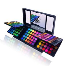SHANY 180 Color Eyeshadow Palette Color Eyeshadow Palette, United Colors of SHANY, Neon Frenzy, Limited), Ounce Multicolor Eye Makeup Palettes Beauty Make Up Palette, Eyeshadow Set, Eyeshadow Palette, Beauty Makeup, Eye Makeup, Makeup List, Makeup Deals, Sephora Makeup, Professional Makeup Kit