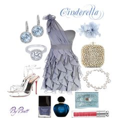 Cinderella Inspired Summer, created by dancngbrett on Polyvore