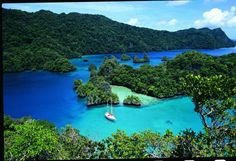 Bay of Islands Cruising #fiji #islands #travel