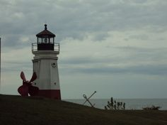 Lighthouse in my hometown of Vermilion Ohio...