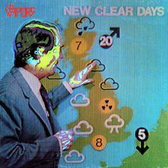Vapors, The - New Clear Days CANADA 1980 Lp nm w/Inner PowerPop
