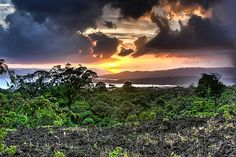 Half Obscured Sun by Stuck in Customs, via Flickr    Don't get lost in the rain forests of Costa Rica.