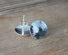 Taotut korvakorut, Hopeatyöt, Hopeakorut, Handmade Jewelry, Silver Jewelry, Silver Earrings