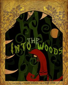 Into the Woods [Sondheim]. My girlie was The Baker's Wife in her 2011 production in Framingham, MA