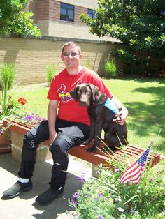 Psychiatric Service Dogs dogs are trained to help military veterans, first repsonders, and EMS personnel suffering from the effects of Post Traumatic Stress Disorder (PTSD).