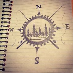 Would be cool fishing tattoo