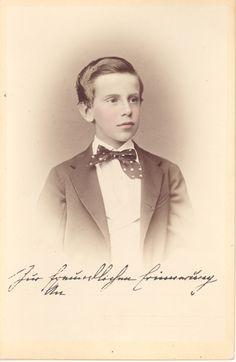 "Crown Prince Rudolf of Austria (1858-1889), son of Emperor Franz Joseph and Empress Elisabeth ""Sisi"""