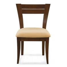Saloom Furniture Skyline Side Chair Finish: Java, Upholstery: Sunbrella Dove