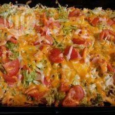 Crunchy taco casserole @ allrecipes.co.uk