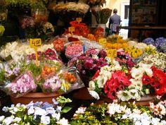 Italy Rome Campo dei Fiorio Market3 500x375 Today I love... Our Trip to Italy