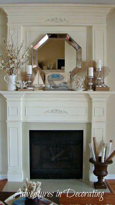 Decorating A Fireplace Mantel 10 fabulous fireplace mantel ideas for summer   summer mantel