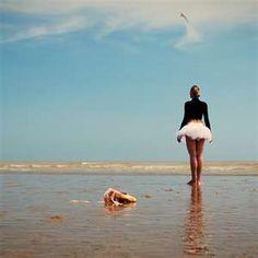 ballet on the beach.
