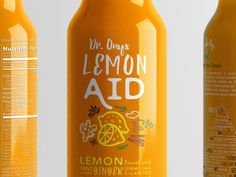 LemonAID Clear Bottle Branding