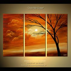 Modern landscape painting by the artist Osnat Tzadok. Choose from thousands of modern, contemporary and abstract paintings in this online art gallery. Artwork: 'Draw me Closer', dimensions: Abstract Tree Painting, Canvas Painting Landscape, Abstract Art, Abstract Landscape, Abstract Photography, Tree Art, Canvas Wall Art, Modern Art, Photos