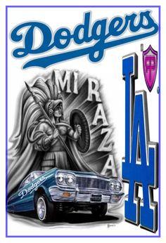 Dodgers Dodgers Vs Giants, Dodgers Nation, Dodgers Girl, Dodgers Baseball, La Rams, Dodger Blue, Chicano Art, Basketball Uniforms, Blue Bloods