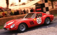 The world's most expensive car 1963 Ferrari GTO sold for $52 million at auction via The Telegraph