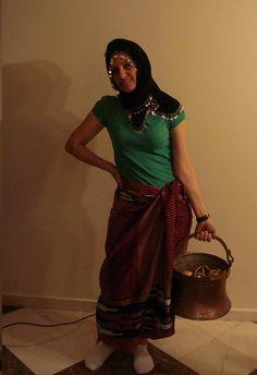 Türk köylü çiftçi kızı