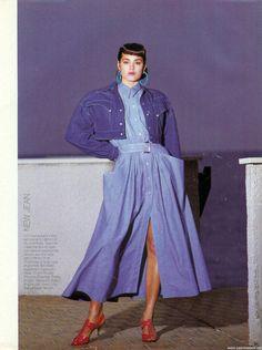 Yasmin Le Bon | editorials | 1985