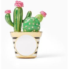 Kate Spade Scenic Route Cactus Ring ($98) ❤ liked on Polyvore featuring jewelry, rings, golden jewellery, kate spade, chains jewelry, chain ring and golden jewelry